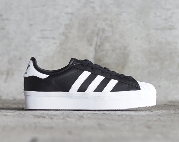 Adidas Superstar Rise厚底款