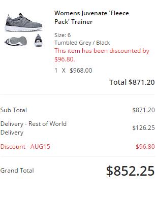 一系列Nike fleece pack新款係英國網站賣緊(有9折code)