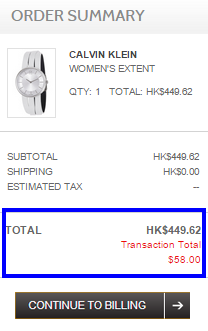 Calvin Klein手錶勁抵買!限時只係HK9就有啦!