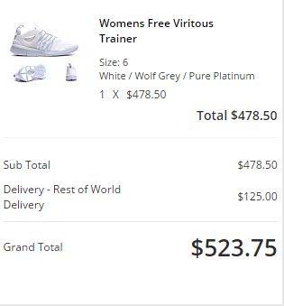 Nike Free Viritous係英國網站買平成一半,HK3有對啦!
