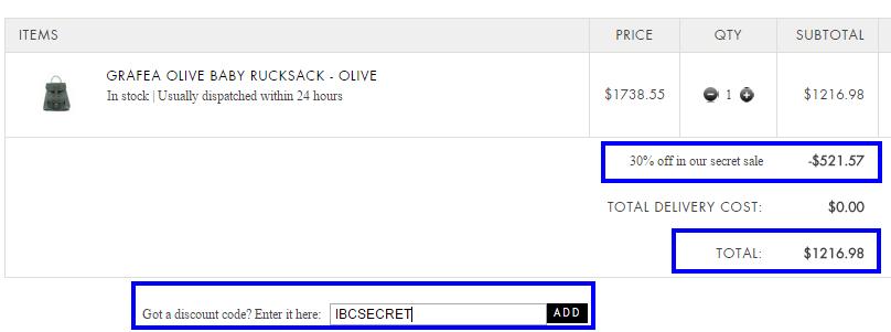 7折code:英國網站Mybag多個牌子袋款岩用!抵買呀!