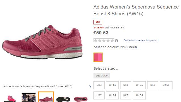 勁抵!Nike Adidas精選鞋款低至半價!