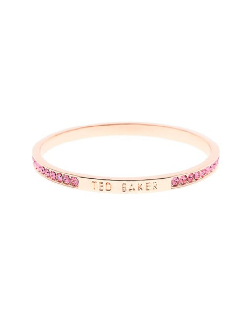 Ted Baker Clem Narrow Crystal Band Bangle - Rose