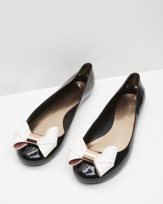 Ted Baker Black Jelly Shoes