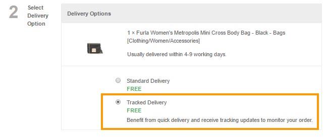 英國網站網購Furla香港價錢76折買到了!
