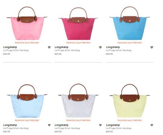 英國Harrods買Longchamp7折+自動退稅20%!細袋HK0左右