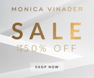 英國官網Monica Vinader精選貨品低至5折!可刻名手鐲平至HK$735有啦!