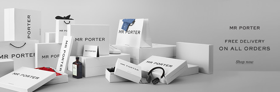 Net-A-Porter同集團男裝網站Mr Porter寄香港地區免運費!
