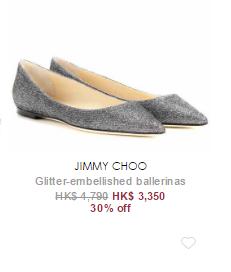 Mytheresa 終極減價尾聲:Jimmy Choo 鞋半價起