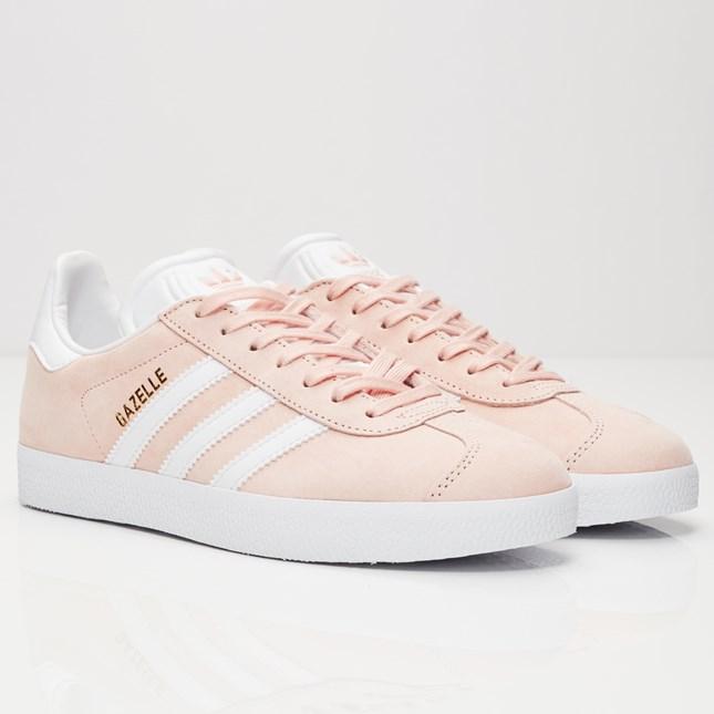 淡粉色 Adidas Gazelle 美國網站 HK$630 左右!齊碼!