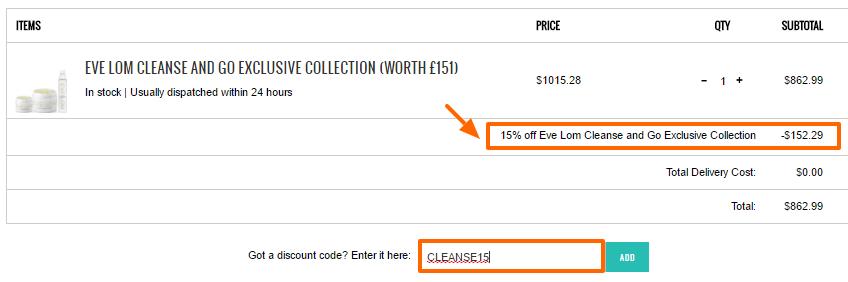 超值!Eve Lom 最新護膚套裝,英國網購 85 折優惠!