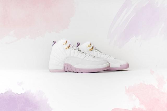 【女生專屬】粉紅 × 白色Air Jordan 12 GS Plum Fog即將開賣!