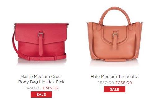 大減價:英國人氣Meli Melo手袋低至 5 折+免運寄香港