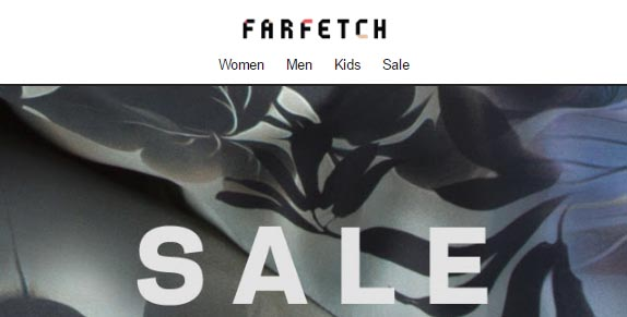for exclusive early access to our sale plus new arrivals, trends and promotions | Click here. Welcome to Farfetch, log in or sign up. Free returns with pick-up service. Fast Shipping. 'farfetch' and the 'farfetch' logo are trade marks of Farfetch UK Limited and are registered in numerous jurisdictions around the .