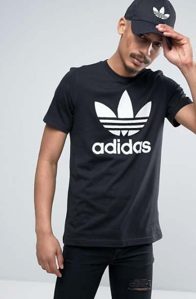 ASOS 限時一天8折!Adidas男女裝Logo Tee折完HK6!免運費!