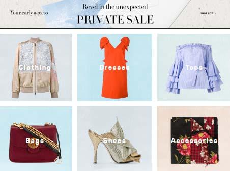 Farfetch Private Sale瘋狂大減價(優先搶購)!免運費寄香港澳門!