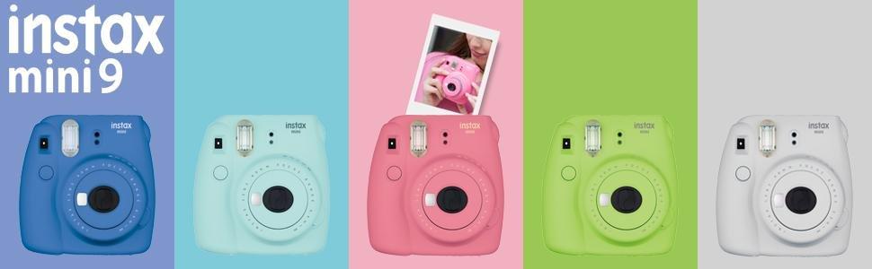 網購最新Fujifilm instax mini 9 Instant Camera只係HK0!寄香港澳門!