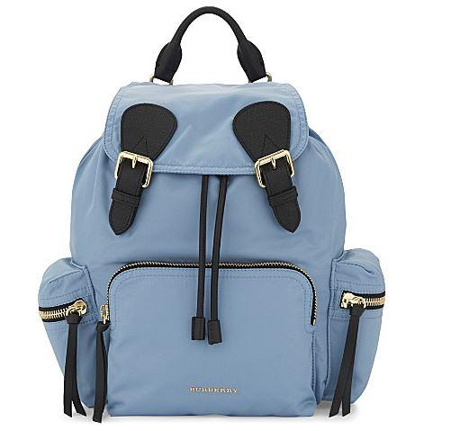 好多靚款!Burberry backpack 最平HK$3,450起!