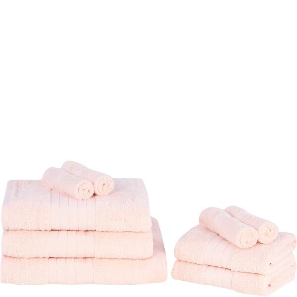 英國純棉毛巾Highams 一套 9 件最平HK$203!免運費寄香港澳門