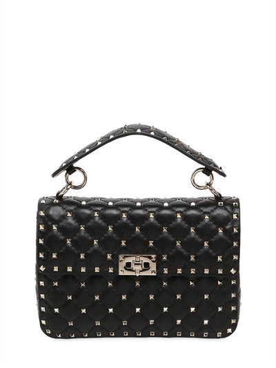 網購Valentino最新款Rockstud Spike 手袋有折啦!平最多HKhttp://www.ibuyclub.com/wp-content/uploads/2017/08/MEDIUM-SPIKE-LEATHER-SHOULDER-BAG-BLACK.jpg,990!