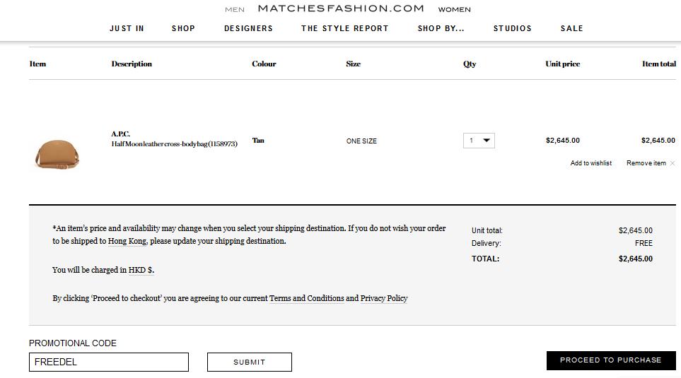 抵買新款!法國輕奢華品牌A.P.C.半月包HKpng,645起!限時免運費!