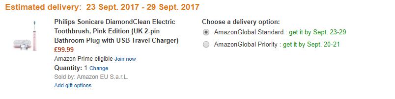 網購最新Philips Sonicare 聲波電動牙刷!退稅價香港價錢56折!