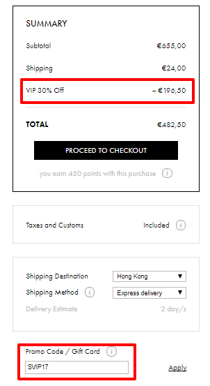 歐洲網VIP SALE平買名牌!3.1 Phillip Lim 手袋折完低至香港價錢55折!