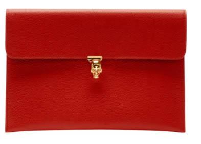 超抵入手機會,英國Alexander McQueen大減價,銀包卡套$817起、手袋$3,397起