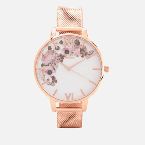 突發快閃24小時,網購英國Olivia Burton手錶快閃8折優惠,手錶HK$593起+免運費