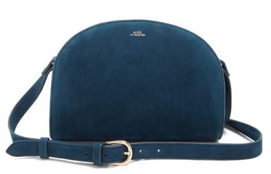 必睇新款人氣半月包,法國A.P.C.手袋新款上架,限時9折+免運費寄香港