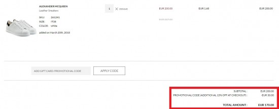 Stylebop減價低至3折+限時額外85折,抵買Alexander McQueen產品推介