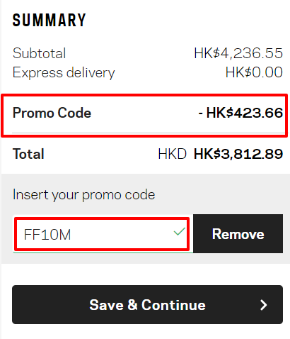 最後兩日震撼價,名牌網Farfetch超強9折優惠,網購低至香港價錢47折