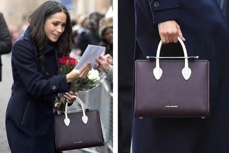人氣急升!準王妃手袋Strathberry英國官網返貨啦,全球超熱賣,直寄香港