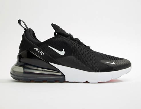 ASOS 限時85折優惠,全城熱搶最新Nike Air Max 270黑白款,男女裝都有